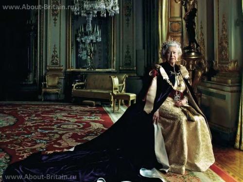 Королева Великобритании - Елизавета II