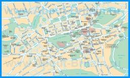 Подробная карта Эдинбурга - Шотландия