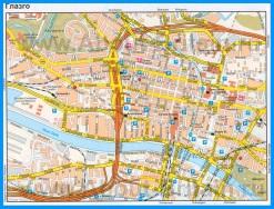 Подробная карта города Глазго