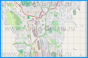 Подробная карта города Ньюри