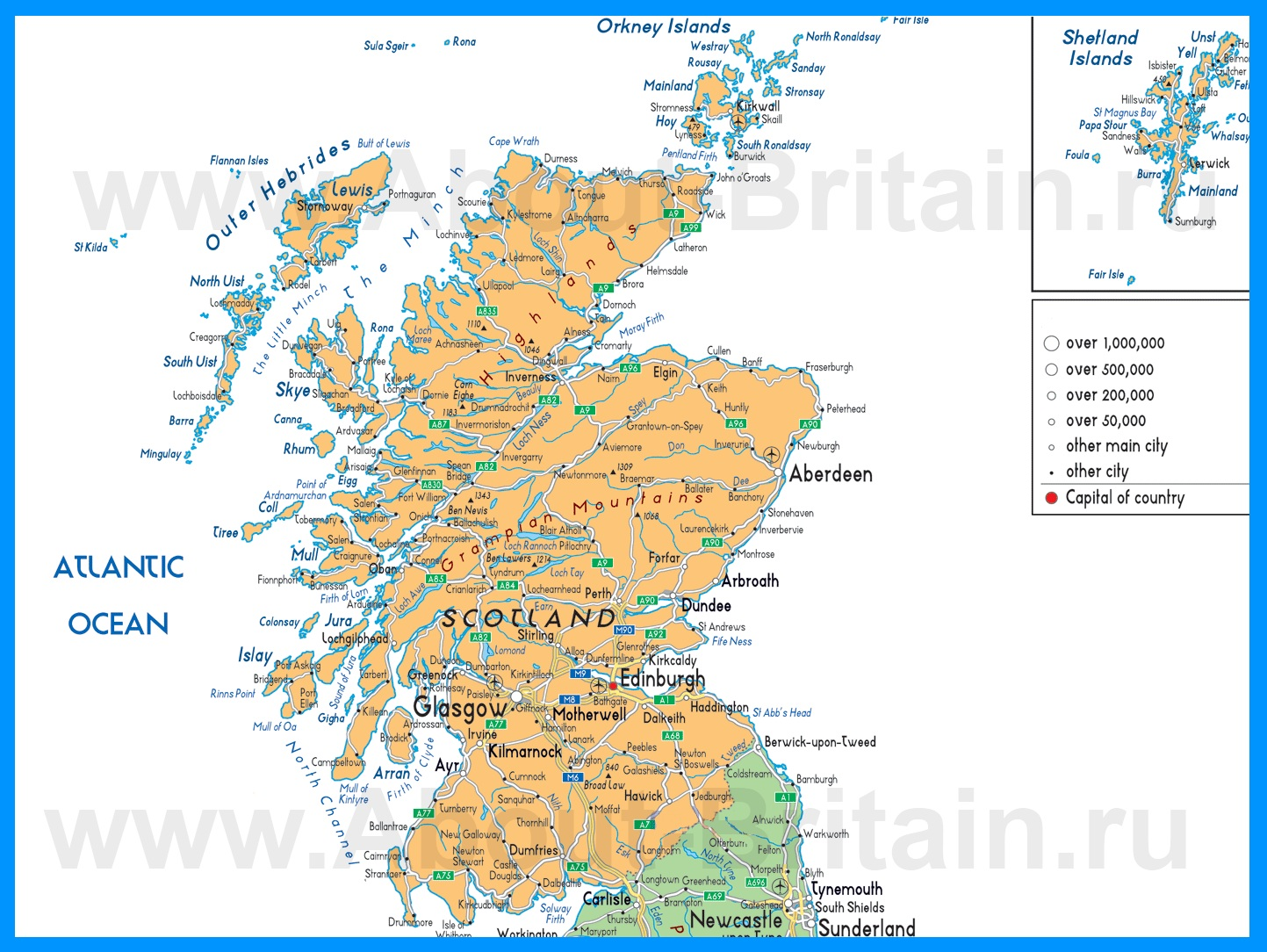 презентация шотландия на русском языке