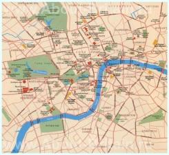 Карта Лондона на русском языке