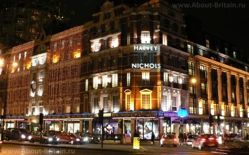 Магазин Harvey Nichols в Лондоне