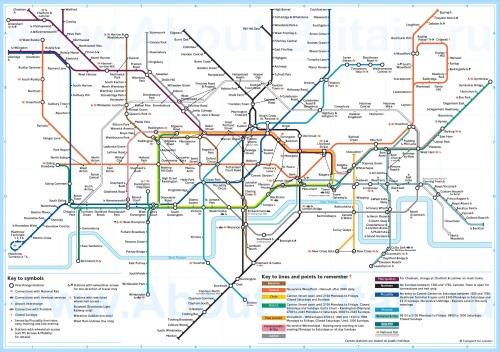 Лондонское метро самое старое во всем