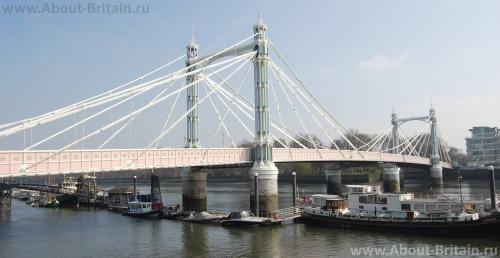 Мосты Лондона Мост Альберта