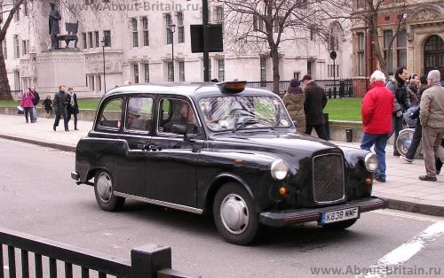 Black Cab в Лондоне